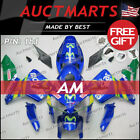 For Honda CBR600RR 2005-2006 Fairing Bodywork ABS Movistar Blue Green 1b1 PS