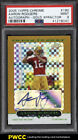 2005 Topps Chrome Gold Xfractor Aaron Rodgers ROOKIE AUTO 399 #190 PSA 9 (PWCC)
