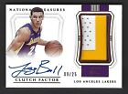 2017-18 National Treasure LONZO BALL Auto RC 3-Color Jersey 25 Rookie Autograph