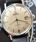 Vintage 1960s Omega Seamaster Watch Original Dial & Serviced Movt. Runs + Looks+