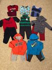 Baby Infant Boys Size 18 Months Winter Lot Nike Carters Outfits Pajamas