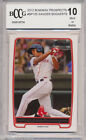 2012 Bowman Prospects Xander Bogaerts RC Rookie BGS BCCG 10 Boston Red Sox