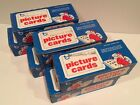 Lot of 6 Vending Boxes 3000 Baseball Cards from 1987 1988 1989 Topps 500 per Box