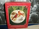 Cardinal's`1987-25 Years Together Collectors Plate Has Stand-Hallmark Ornament