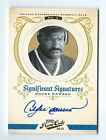 Andre Dawson Chicago Cubs 2012 Prime Cuts Significant Signatures Auto Card 12 25