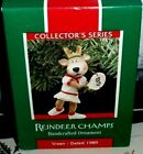 Reindeer Champs-Tennis`1989`Vixen-4Th Reindeer Champs Series`Hallmark Ornament
