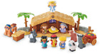 New Fisher Price Little People Nativity Set Play Holiday