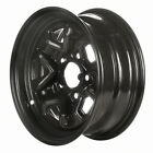 Reconditioned 14X6 Black Steel Wheel 1982 1993 Chevrolet S10 Pickup 560 05011