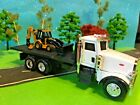Peterbilt Model 367 CAT 420E Backhoe Loader ERTL  NORSCOT 1 64 Scale Diecast