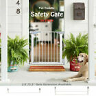 Dog Gate Indoor Door Pet Fence Baby Barrier Walk Through Toddler Safety Fence