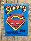 Superman 2 Trading Cards Set 1980 Topps