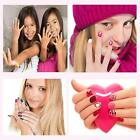 Kids Nail Art Kit Manicure Set Non Toxic Nail Stickers for Girls Ages 4 Up Birth