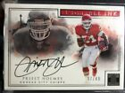 2017 Impeccable Indelible Ink Priest Holmes Auto #37 49 Kansas City Chiefs