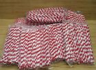 Lot 1200 Red  White Candy Cane Striped Twist 12 Pipe Cleaners Chenille Stems