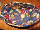 Longaberger EARLY HARVEST Liner~ Small BERRY, Blueberry, Winter Booking Basket