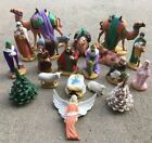LARGE Size Atlantic Mold Nativity 19 Pcs Vintage Ceramics