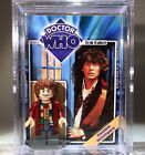 Doctor Who Custom Mini Action Figure wCase  Stand Mini fig Dr Who Baker