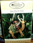 Home From The Woods`1995`Showcase-Folk Art American Collection,Hallmark Ornament