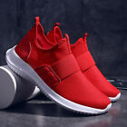 Mens Slip on Casual Running Sports Athletic Sneakers Breathable Ultralight Gym
