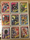 1990 Marvel Universe Series 1 Trading Cards COMPLETE BASE SET, #1-162 NM M Impel