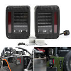 LED Tail Lights Rear Brake Reverse Lamps For Jeep Wrangler JK 2007 2017 US PY