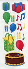 Creative Memories Stickers Birthday Cake  Candles  Gifts  Balloons 109