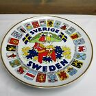 Sweden Collectors Wall Plate by Allan Fink