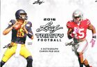 2016 LEAF TRINITY FOOTBALL HOBBY SEALED BOX