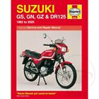 Suzuki DR 125 S 1987-1994 Haynes Service Repair Manual 0888