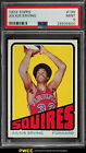 1972 Topps Basketball Julius Erving ROOKIE RC #195 PSA 9 MINT (PWCC)