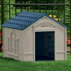 XXL DOG KENNEL FOR X LARGE DOGS OUTDOOR PET CABIN INSULATED HOUSE BIG SHELTER