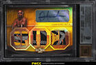 2010 Topps UFC Knockout Gold Anderson Silva AUTO PATCH 9 BGS 9 MINT (PWCC)