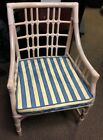 HENRY LINK RATTAN/WICKER/BAMBOO LOUNGE Sitting Chair Sunroom Patio Porch Chair