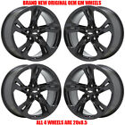 20x85 Chevrolet Camaro RS black wheels rims Factory OEM 20 2019 2020 set 4