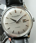 Vintage IWC Automatic Watch Rare Serviced Cal 8531 Runs + Stunning Original Dial