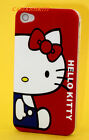 for iphone 4 4s cute hello kitty blue withe red bow hard case skinred