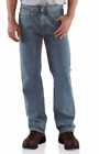 CARHARTT B460 STRAIGHT LEG RELAXED FIT JEAN LIGHT VINTAGE BLUE 48 x 32