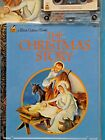 THE CHRISTMAS STORY Nativity Little Golden Book  Cassette Tape New SEALED