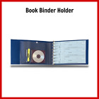 US Business Check Book Binder Holder Checkbook Cover Vinyl 7Ring 3 On A Page