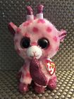 New Ty Beanie Boos Sweetums the Giraffe Valentine 6