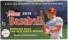 2019 Topps Heritage Baseball MLB Factory Sealed Hobby Box