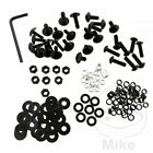 Probolt Aluminium Black Fairing Bolt Kit Suzuki DL 650 A V-Strom ABS 2011