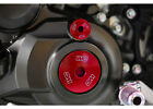 Works Connection 24-595 engine plugs - red Yamaha Raptor 700 YFZ450R/X YZ450F