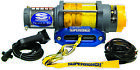 SUPERWINCH Terra Series Winch (Synthetic Rope), 4500 lbs