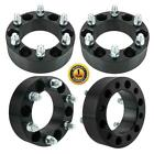 4pc 2  6x55 6x1397 Black Wheel Spacers 108mm  14x15 studs For Chevy