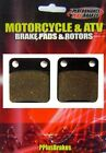 New Performance Plus Organic Brake Pads Sachs Madass 125 2010 2011 Rear