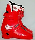 Vintage NORDICA N995 Red Ivory Ski Boots Size Mondo 27.5 Mens 9.5 Women 10.5