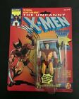 X Men 1991 ToyBiz Wolverine Yellow and Brown 1st edition unopened great shape