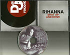 RIHANNA Shut Up and Drive EDIT & INSTRUMENTAL PROMO DJ CD Single 2007 USA MINT