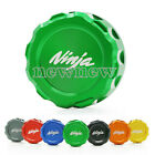 Rear Brake Fluid Reservoir Cover Cap for Kawasaki Ninja 250 300 400 ZX-10R